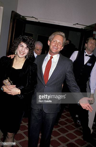 Eric Douglas and Date during American Civil Liberties Union Dinner in Honor of Kirk Douglas at Regencey Hotel in Universal City California United...