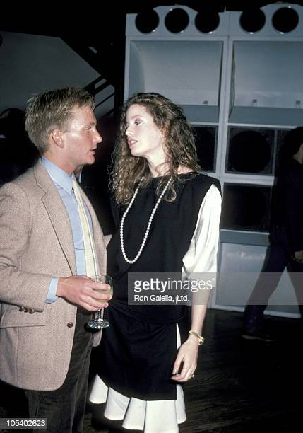 Eric Douglas and Diandra Douglas during Eric Douglas and Diandra Douglas Sighting April 1 1984 at Night Club in Los Angeles California United States