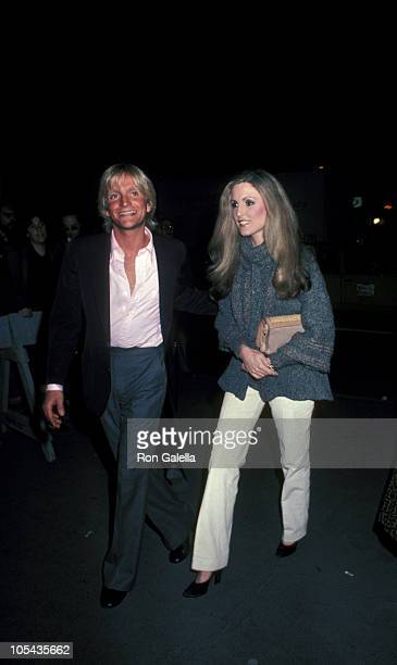 Eric Douglas and Elizabeth Stack during Time Bandits New York City Premiere at Loews Twin Theatre in New York City New York United States