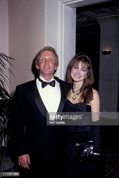 Eric Douglas and Wife during The American Academy of Dramatic Arts Tribute to Kirk Douglas at Waldorf Astoria Hotel in New York City New York United...