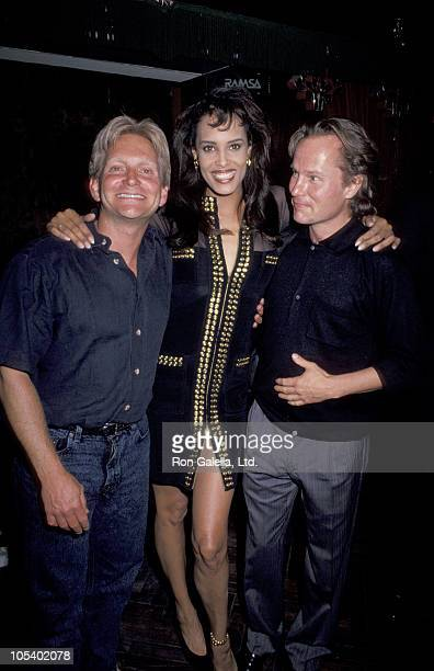 Eric Douglas John Savage and Nadia during Premiere of Primary Motive PostParty at Club Tatou in New York City New York United States