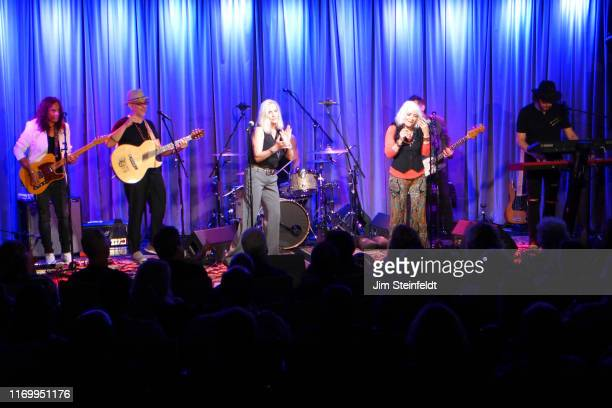 Eric Dover Dave Darling Cherie Currie Brie Darling Dave Schulz perform at the Grammy Museum in Los Angeles California on August 1 2019