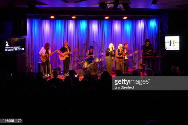 Eric Dover Dave Darling Matt Oloffson Cherie Currie Brie Darling Derek Frank Dave Schulz perform at the Grammy Museum in Los Angeles California on...