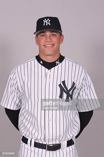 Eric Duncan of the New York Yankees during photo day at Legends Field on February 24 2006 in Tampa Florida