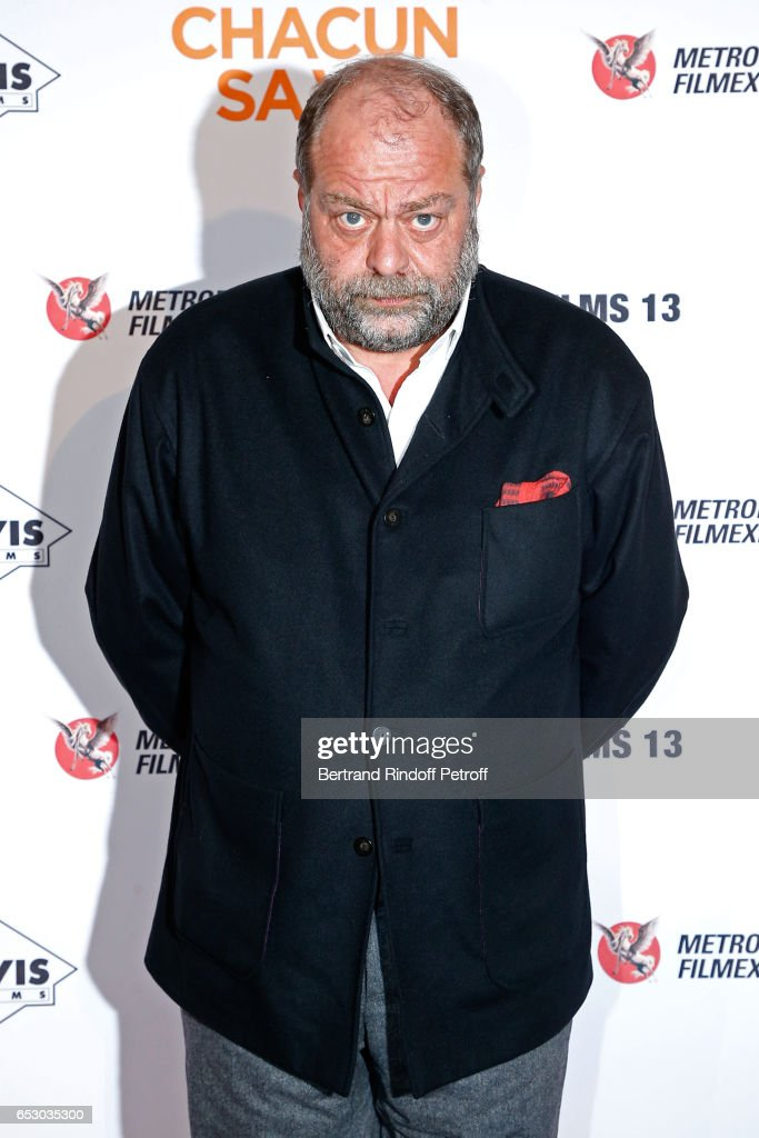 Eric Dupond-Moretti attends the 'Chacun sa vie' Paris Premiere at Cinema UGC Normandie on March 13, 2017 in Paris, France.