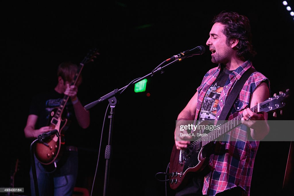 Eric Earley of Blitzen Trapper performs at Saturn Birmingham on October 19, 2015 in Birmingham, Alabama.