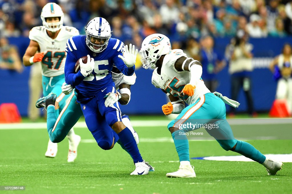 Miami Dolphins v Indianapolis Colts : News Photo