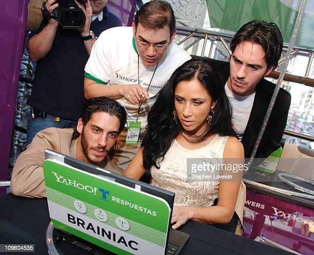 Eric Elias Monica Noguera and Mauricio Ochmann Yahoo Presents Ask the Planet 2006 Yahoo Brain