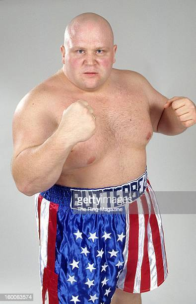Eric Esch Butterbean poses for a portrait in 1997 in New York