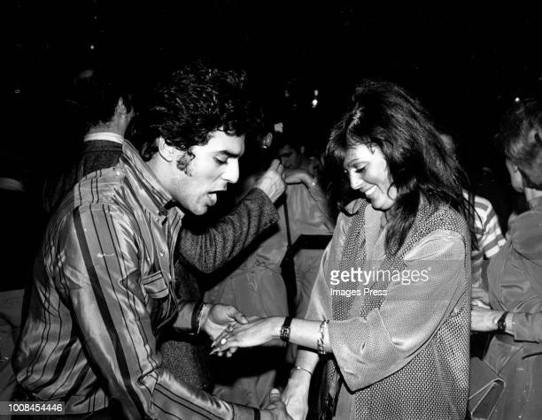 Eric Estrada and Sharon Kovaks circa 1980 in New York City