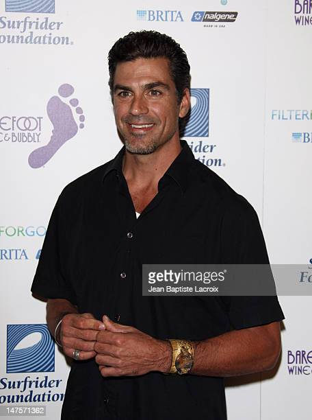 Eric Etabari arrives at The Surfrider Foundation's 25th Anniversary Gala at the California Science Center's Wallis Annenberg Building on October 9...