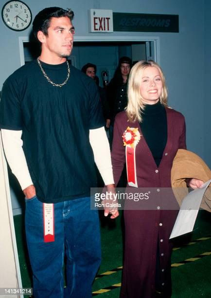 Eric Ettebari and Nicole Eggert at the Hollywood Christmas Parade Hollywood Hollywood