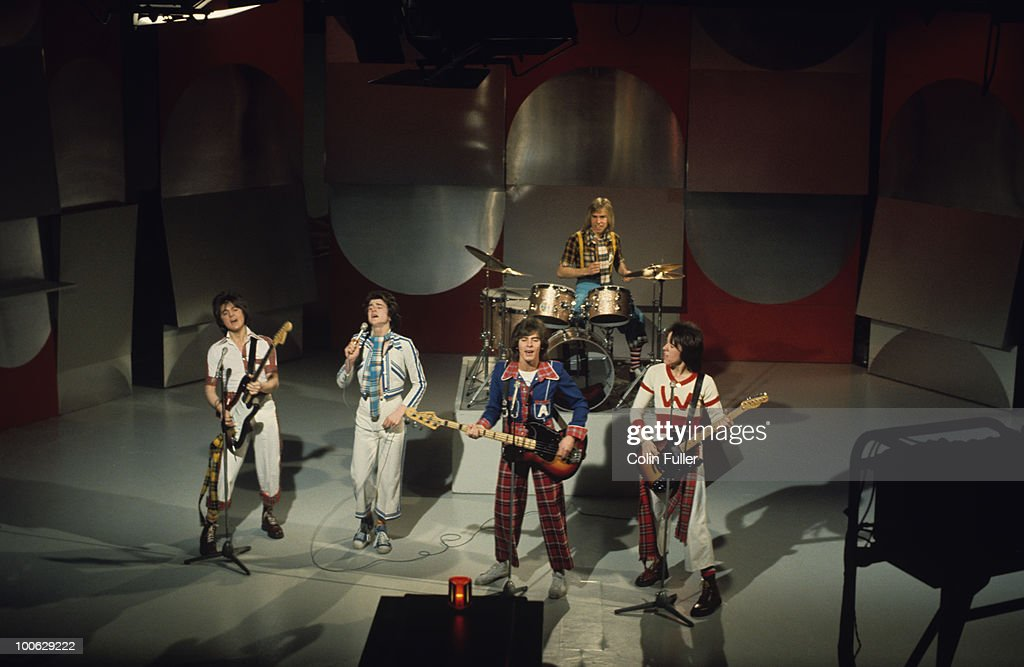 Bay City Rollers On Tv Show : News Photo