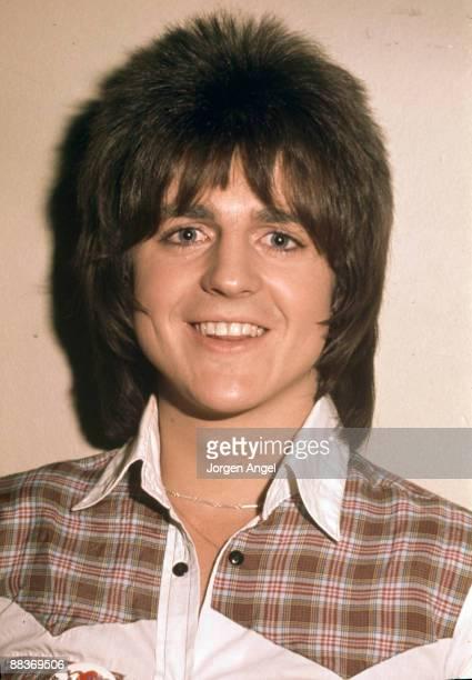 Eric Faulkner of pop group the Bay City Rollers poses in October 1975 in Aarhus Denmark