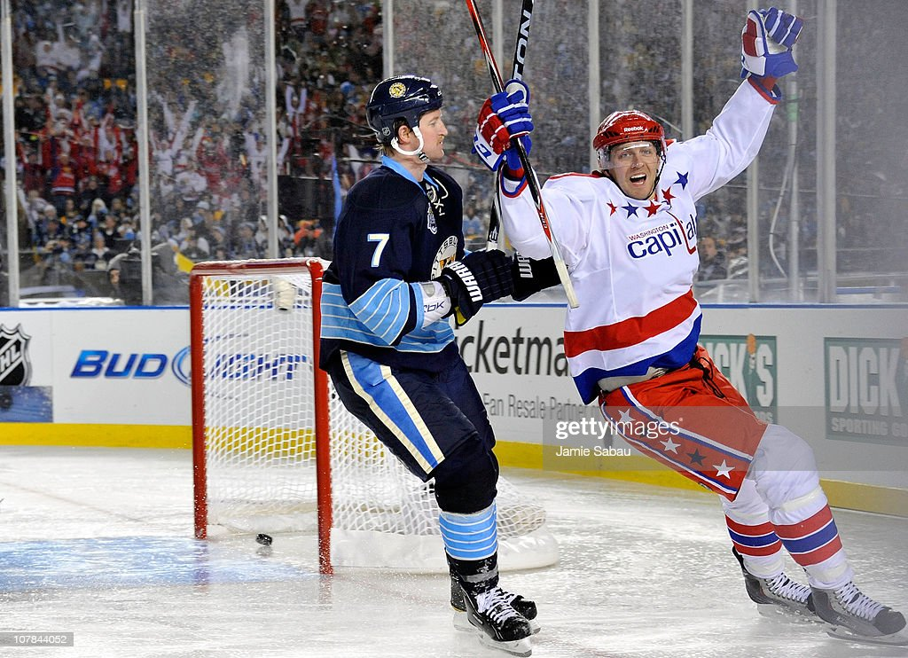 Washington Capitals v Pittsburgh Penguins : News Photo