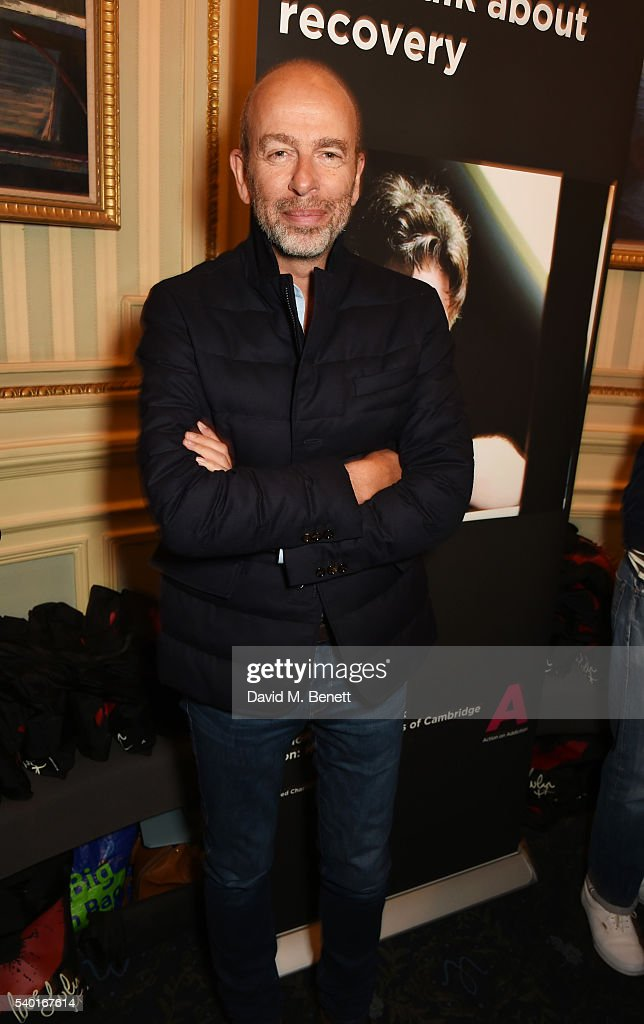 Eric Fellner attends the 'People, Places & Things' Charity Gala in aid of Action On Addiction at Wyndhams Theatre on June 14, 2016 in London, England.