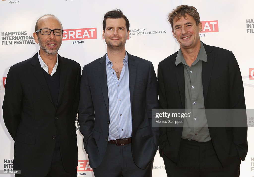 Eric Fellner, Luke Parker Bowles, and Tim Bevan attend the 21st Annual Hamptons International Film Festival on October 12, 2013 in East Hampton, New York.
