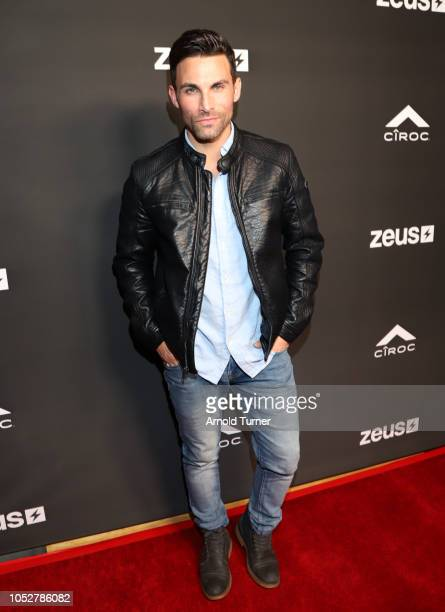 Eric Fellows attends the ZEUS New Series Premiere Party X CIROC Black Raspberry on October 19 2018 in Burbank California