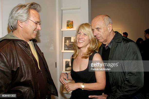 Eric Fischl Sally Gall and Ralph Gibson attend SALLY GALL'S Opening of BLOSSOMS at Julie Saul Gallery on March 29 2007 in New York City