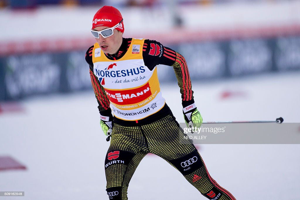 NORWAY-FIS-WORLD-CUP-NORDIC-COMBINED : News Photo
