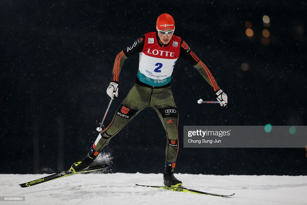 FIS Nordic Combined World Cup presented by Viessmann  - Test Event For Pyeongchang 2018 Olympic Winter Games - Day 2 : News Photo