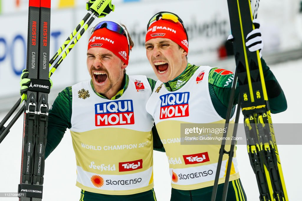 AUT: FIS Nordic World Ski Championships - Men's Nordic Combined Team HS130