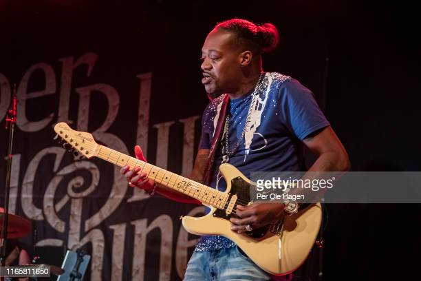 Eric Gale with The Supersonic Blues Machine performs on stage at The Notodden Blues Festival on August 2 2019 in Notodden Norway