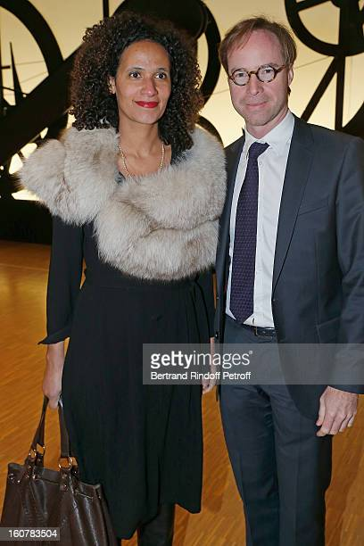 Eric Garandeau Director of the National Centre for Cinematography and guest attend the 8th Annual Dinner of the 'Societe Des Amis Du Musee D'Art...