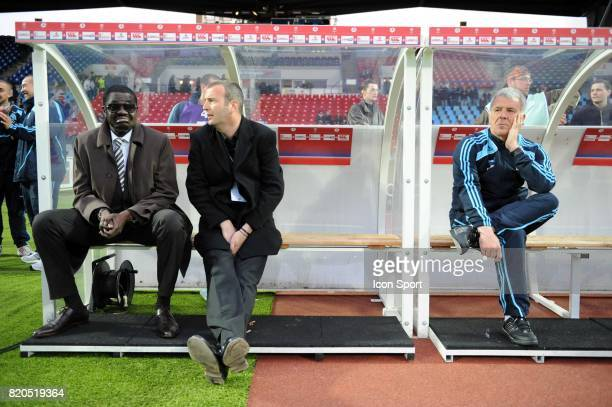 Eric GERETS / Pape DIOUF Lille / Marseille 33eme journee de Ligue 1 Stadium Nord Villeneuve d'Ascq Lille
