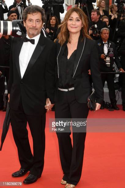 """Eric Ghebali and Daniela Lumbroso attend the screening of """"Les Plus Belles Annees D'Une Vie"""" during the 72nd annual Cannes Film Festival on May 18,..."""