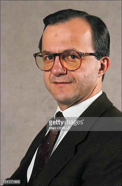 Eric Giuily general director of Antenne 2 TV channel in Paris France on January 09 1991