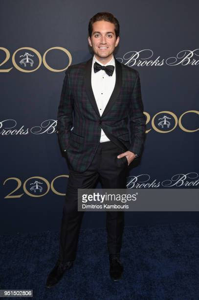 9289e191cf13 Eric Goldie attends the Brooks Brothers Bicentennial Celebration at Jazz At  Lincoln Center on April 25
