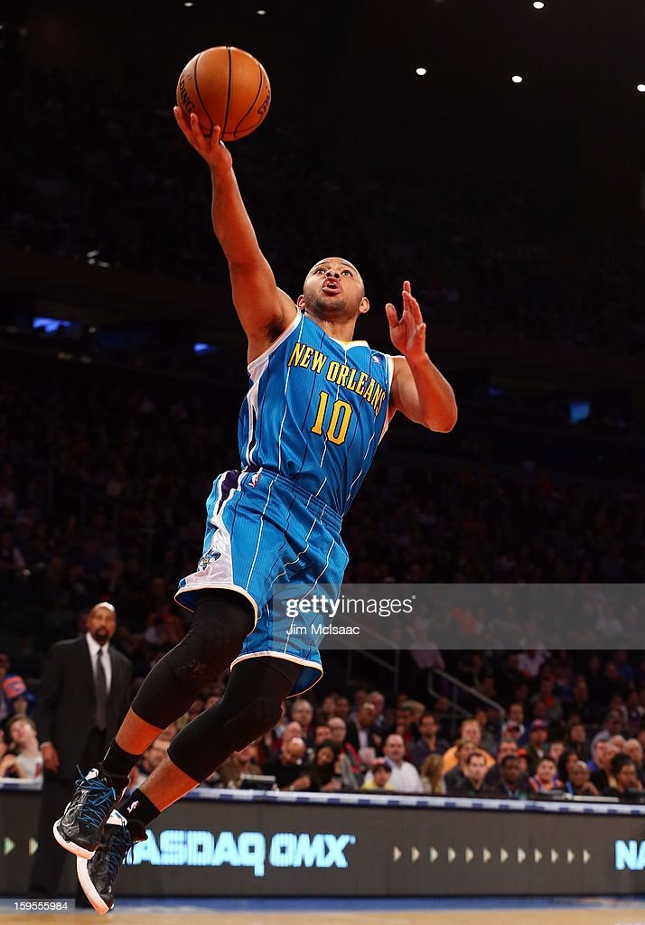 a81ecb6adb61 Eric Gordon of the New Orleans Hornets in action against the New ...