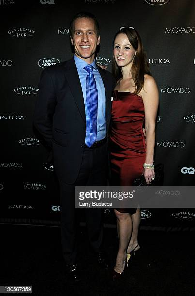 Eric Greitens and guest attend GQ's Gentlemen's Ball Presented By Gentleman Jack, Land Rover, Movado, and Nautica at The Edison Ballroom on October...