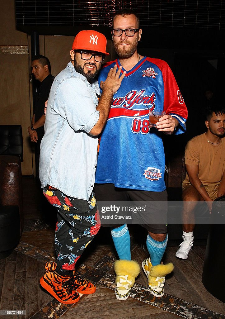 Eric Halliwell and Mikhail Torich attends The Untitled Magazine Celebrates The #GirlPower Issue at Haus on September 16, 2015 in New York City.