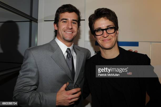Eric Heidenberg and Rachel Maddow attend THE HUFFINGTON POST PreInaugural Ball at The Newseum on January 19 2009 in Washington DC