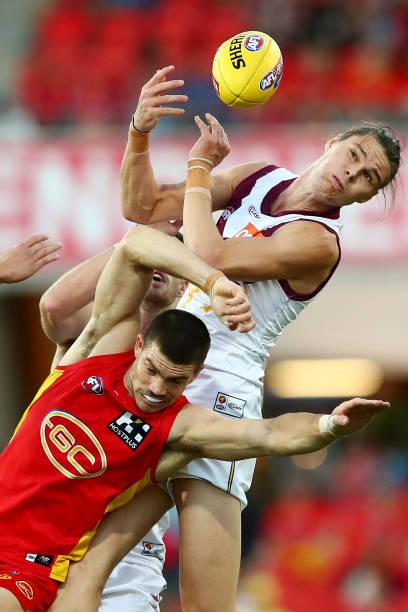 AUS: AFL Rd 9 - Gold Coast v Brisbane