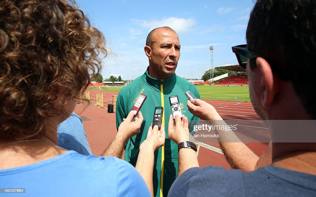 Australian Athletics Training Camp : News Photo