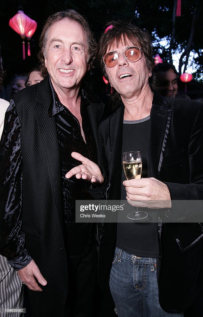 Eric Idle and Frank Infante during Dave Stewart Hosts the Unveiling of Coco de Mer Boutique - Inside at Coco de Mer in West Hollywood, California, United States.