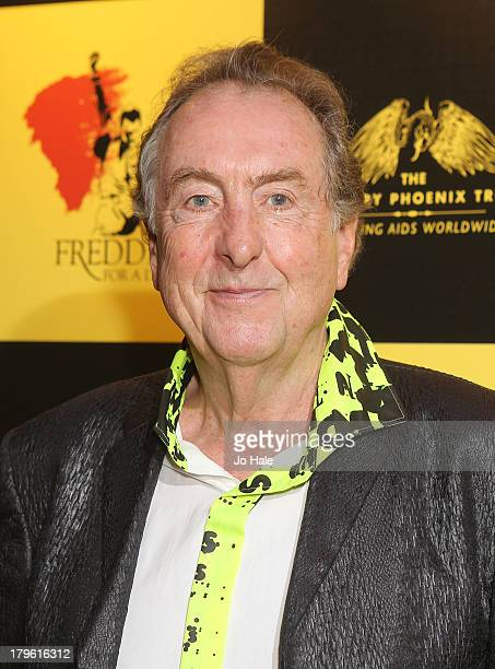 Eric Idle attends the Freddie for a Day charity event in aid of The Mercury Phoenix Trust at The Savoy Hotel on September 5 2013 in London England