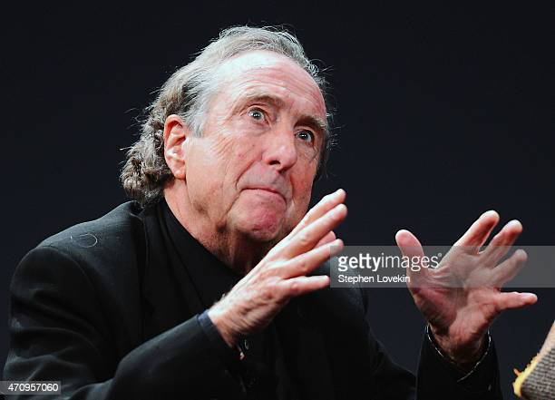 Eric Idle attends the Monty Python Press Conference during the 2015 Tribeca Film Festival at SVA Theater on April 24, 2015 in New York City.