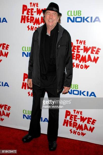 Eric Idle attends The Pee Wee Herman Show Opening Night at Club Nokia on January 20 2010 in Los Angeles California