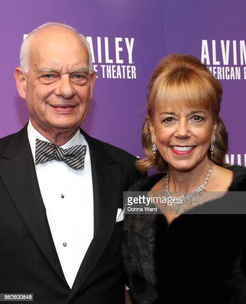 Eric J Wallach and Daria L Wallach attend Alvin Ailey's 2017 Opening Night Gala at New York City Center on November 29 2017 in New York City