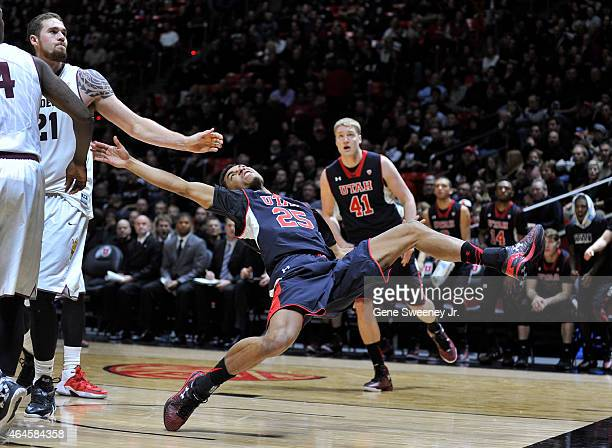 Eric Jacobsen of the Arizona State Sun Devils was called for this secondhalf flagrant foul on Kenneth Ogbe of the Utah Utes at the Jon M Huntsman...