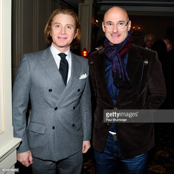Eric Javits and Benjamin Gennochio attend In Celebration of the life of Lee Mellis at 21 Club on November 14 2017 in New York City