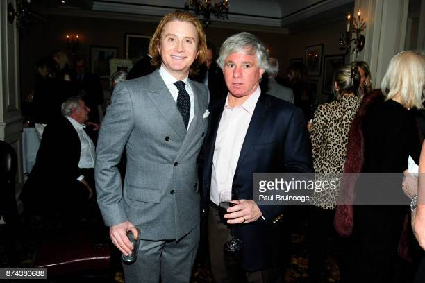 Eric Javits and Sylvester Miniter attend In Celebration of the life of Lee Mellis at 21 Club on November 14 2017 in New York City