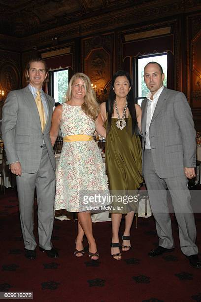 Eric Javits Janie Schoenborn Vera Wang and Frank Zambrelli attend The 3rd Annual MADISON SQUARE Boys Girls Club Purses Pursonalities Luncheon...