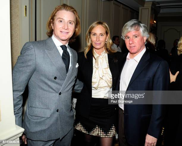 Eric Javits Sonja Morgan and Sylvester Miniter attend In Celebration of the life of Lee Mellis at 21 Club on November 14 2017 in New York City