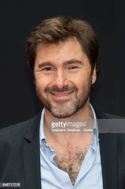 Eric JeanJean attends the RTLRTL2Fun Radio Press Conference to Announce Their TV Schedule for 2017/2018 at Cinema Elysee Biarritz on September 13...