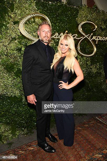 Eric Johnson and Jessica Simpson attend the 10th Anniversary Celebration of the Jessica Simpson Collection at Tavern on the Green on September 9,...
